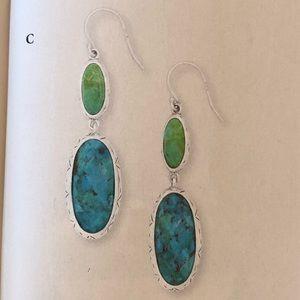 Silpada Sterling Turquoise Make Memories Earrings
